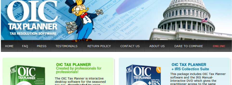 OIC Tax Planner
